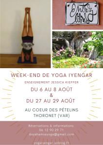 2 weeks-ends de Yoga Iyengar